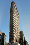 New York Flat Iron building